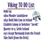 Viking To Do List