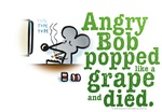 Pearls Before Swine Angry Bob Popped