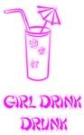 girl drink drunk