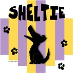 Shetland Sheepdog Yellow/Purple Stripe