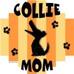 Collie Mom - Yellow/Orange Stripe