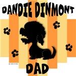 Dandie Dinmont Terrier Dad - Yellow/Orange Stripe