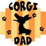 Welsh Corgi Dad - Yellow/Orange Stripe