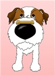 Jack Russell Terrier - Be My Valentine