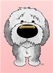 Old English Sheepdog - Be My Valentine