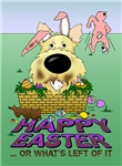 Wheaten Cairn Terrier - Happy Easter