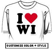 I Love Wisconsin (WI)