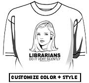 Librarians do it with silence