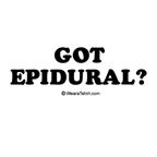 Got Epidural?