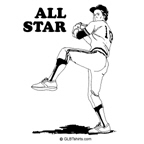 All star pitcher