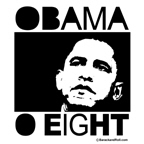 Obama 2008: Obama O eight