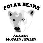 Polar Bears against McCain/Palin