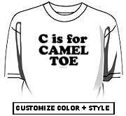 C is for CAMEL TOE