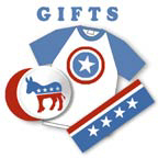 Hillary Clinton Stickers and Gifts