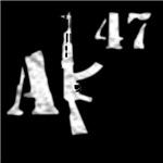 AK 47 (white)