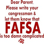 FAFSA Red Tape