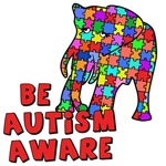 Be Autism Aware with Elephant