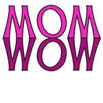 Pink Letters: Mom Wow!