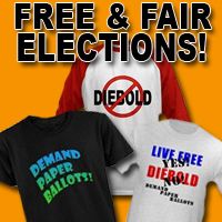 Election Fraud, Paper Ballots, Clean Elections