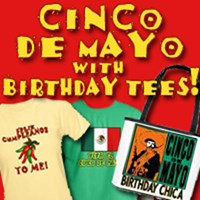 Cinco de Mayo, Cinco de Mayo Birthday & KOKOPELLI