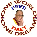One World One Dream Free Tibet