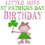 Little Miss St. Patrick's Day Birthday