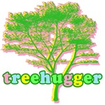 Pretty Pastel Tree Hugger For Earth Day