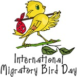 International Migratory Bird Day T-shirts