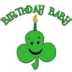 St, Patrick's Day Birthday Baby Tshirts