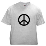 Black Peace Symbol