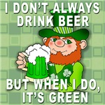 Leprechaun Meme Green Beer