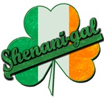 Shenani-gal! with Irish Shamrock