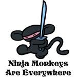 Ninja Monkey Kick