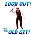Look Out! Its the Old Git!