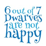 6 out of 7 Dwarves are not happy