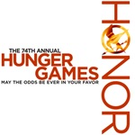 Hunger Games - honor and tagline tee