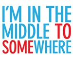 middle to somewhere