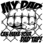 My Dad Tap - MMA Glove