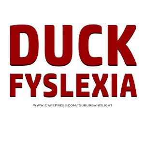 Duck Fyslexia
