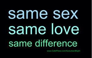 Same Sex Same Love