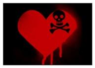 Emo Skull Heart
