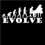 evolution of pianist