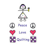 Peace. Love. Quilting.
