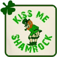 Kiss Me Shamrock T-shirts and Gifts