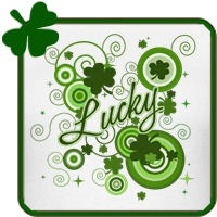 Lucky Abstract St Patricks Day t-shirts