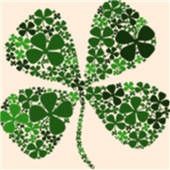 Infinite Luck Four Leaf Clovers