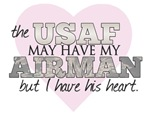 The USAF may have my Airman, but I have his heart