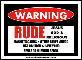 RUDE JESUS,GOD & RELGIOUS