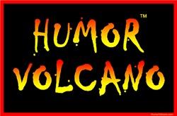 Humor Volcano Logo