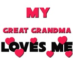 My GREAT GRANDMA Loves Me